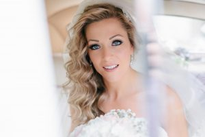 bride portrait by Peterborough photography studio on Broadway