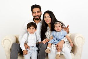family photo shoot peterborough studio