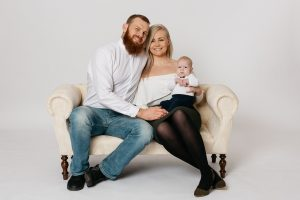 family at Peterborough Photography Studio