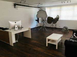 photo studio inside