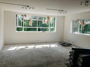 studio before