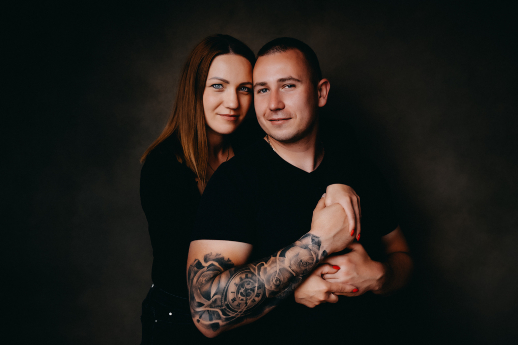 family photoshoot Peterborough studio